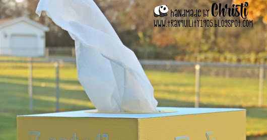 Cutting Cafe -DT Project- Tissue Box Cover