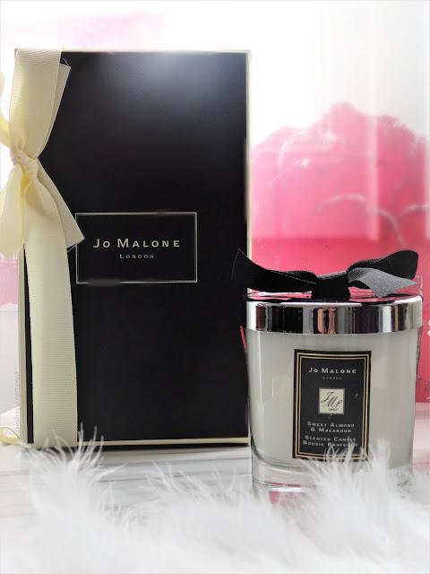 Avis Sweet Almond & Macaroon de Jo Malone blog bougie cocooning