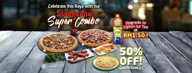 Ssamjeang Prawn Pizza, Domino's Pizza