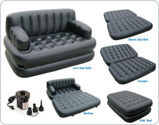 Air lounge couch cum Bed 5 in 1 in Pakistan