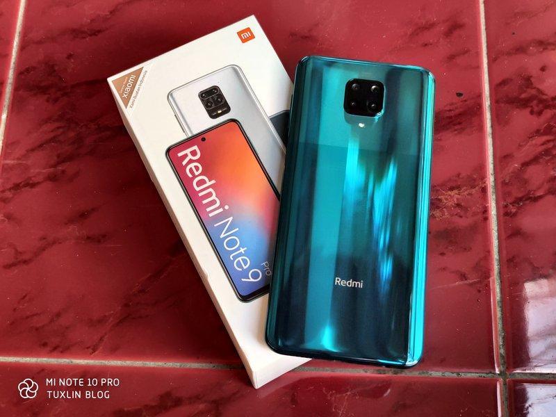 Desain Xiaomi Redmi Note 9 Pro