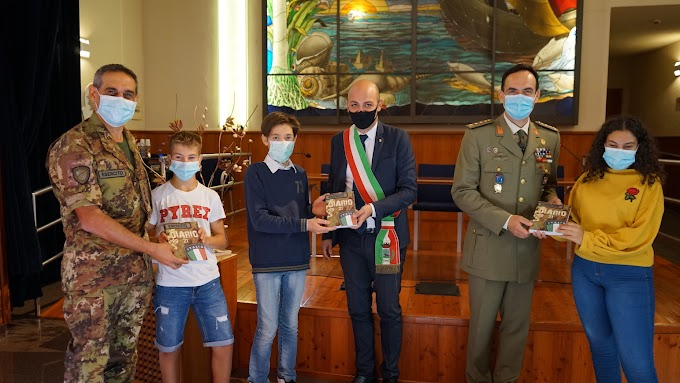 Un dono speciale dell'Esercito ai ragazzi di Codogno