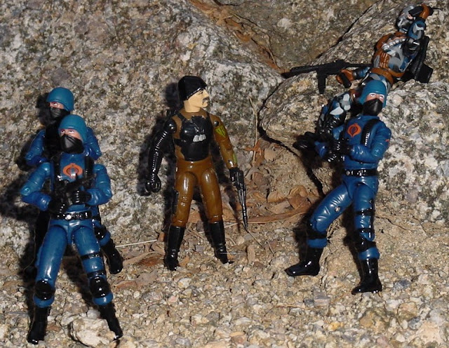 1983 Major Bludd, 2004 Urban Assault Firefly, Cobra Trooper