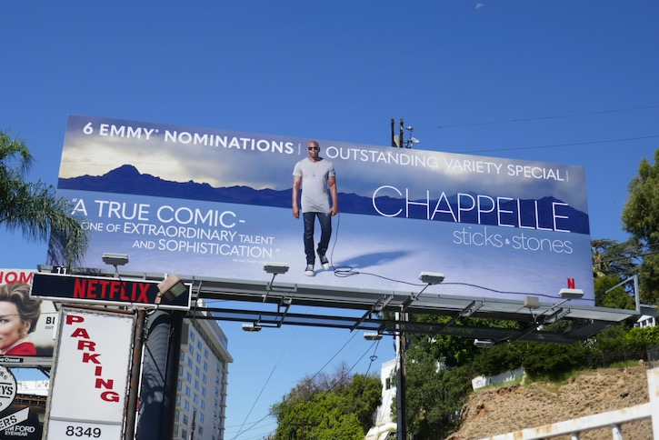 Chappelle Sticks Stones Emmy nominee billboard