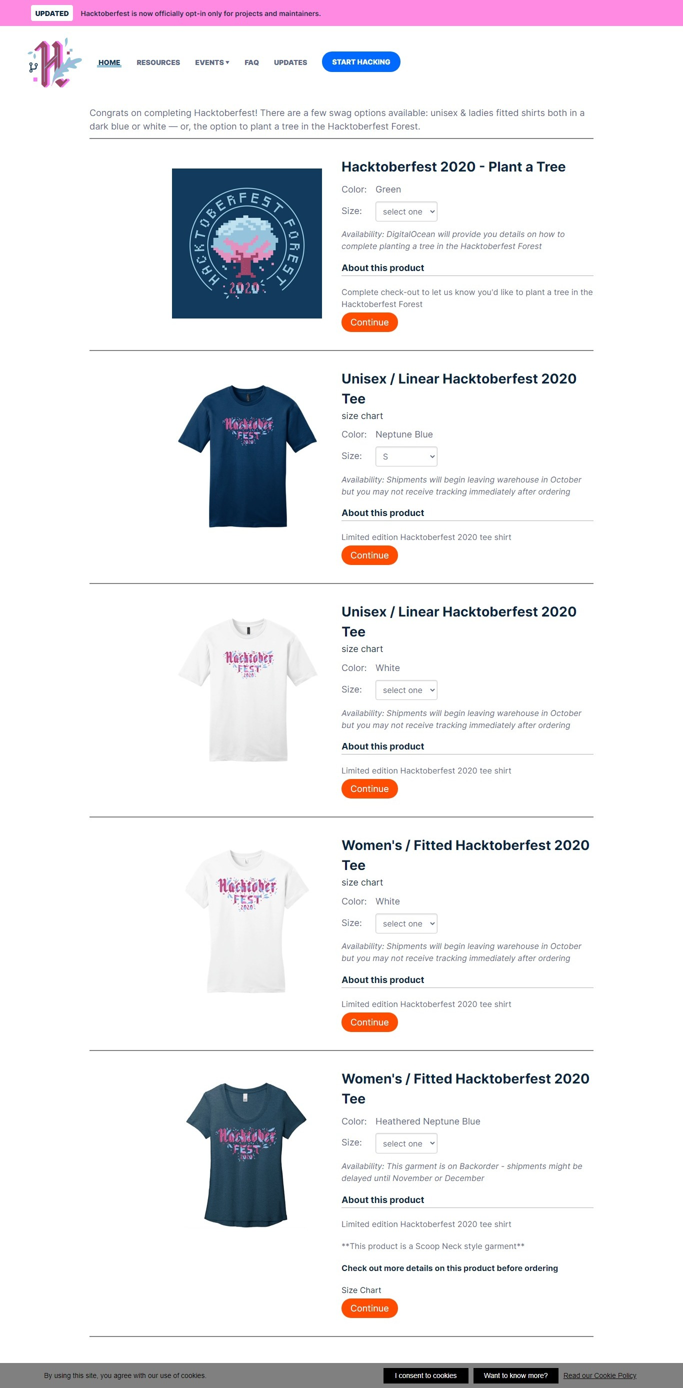 hacktoberfest-T-shirt