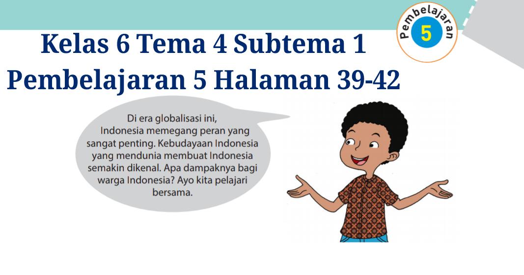 Kunci Jawaban Tematik Kelas 6 Tema 3 Halaman 140 Peranti Guru