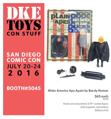 San Diego Comic-Con 2016 Exclusive Make America Ape Again Resin Figure by Barely Human x DKE Toys