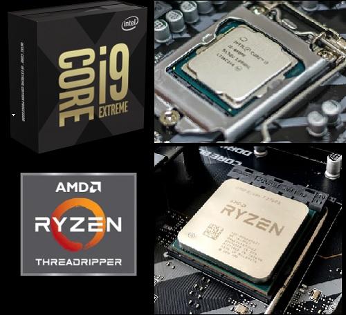 الفرق بين معالجات Intel ومعالجات AMD