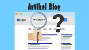 Apa Penyebab Artikel Blog Susah Untuk Page One