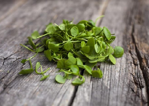 What are the benefits of watercress to handle?