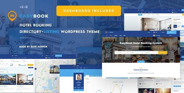 EasyBook v1.2.5 - Directory & Listing WordPress Theme