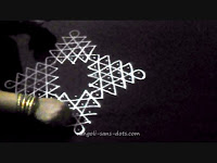 108 videos of kolam with dots