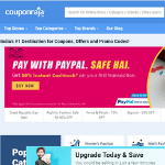 15+ Coupon Sites in india