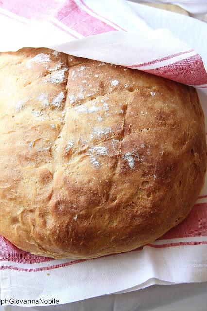 Pagnotta di farina integrale e grano kamut