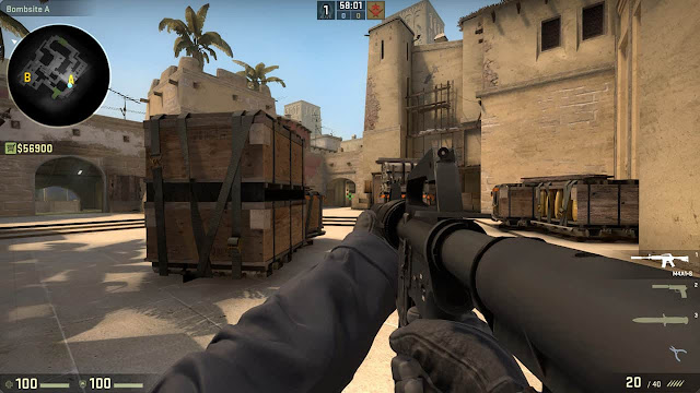COUNTER - STRIKE: Globle Offensive Offcial Game Direct Free Download Apunka games