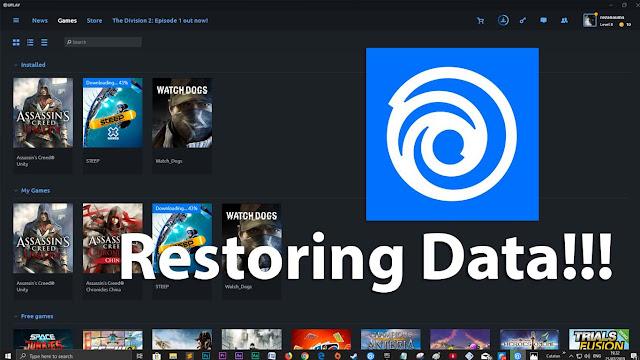Ingin restore data game? Pakai cara ini aja
