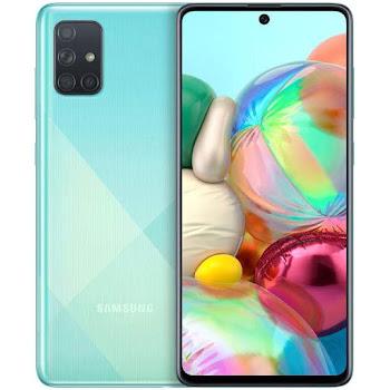 Samsung Galaxy A71 verde