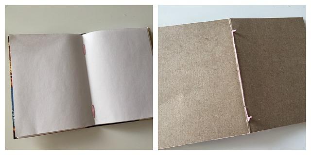Reciclar cajas de cereal: libreta de notas | http://bizcochosysancochos.blogspot.com/