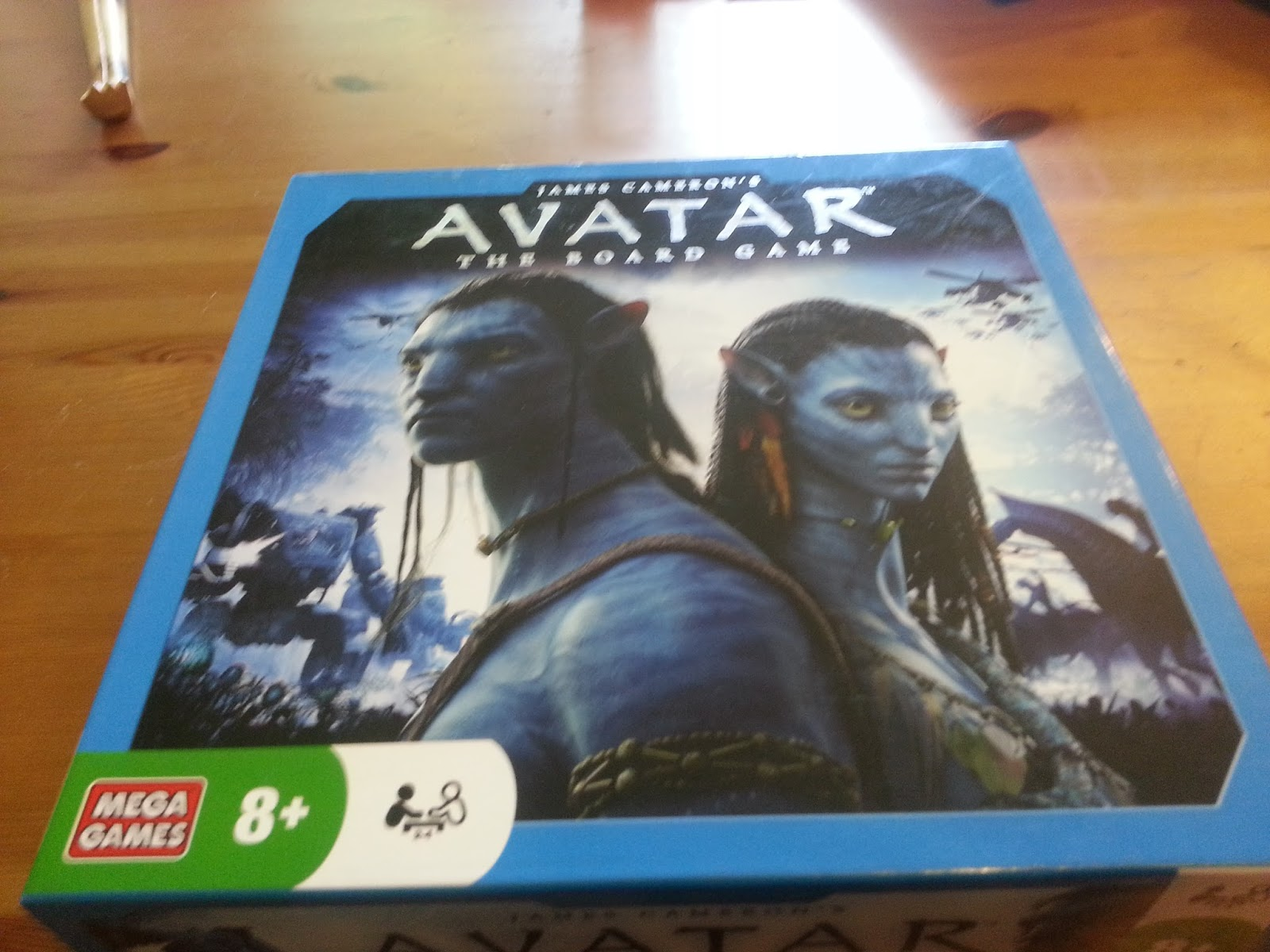 The Ghost without a Shell: Avatar the Board game – Or why