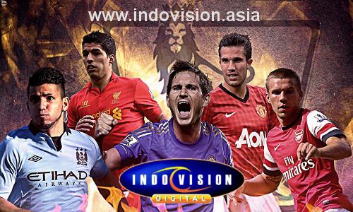 Siaran Langsung Liga Inggris di Indovision.