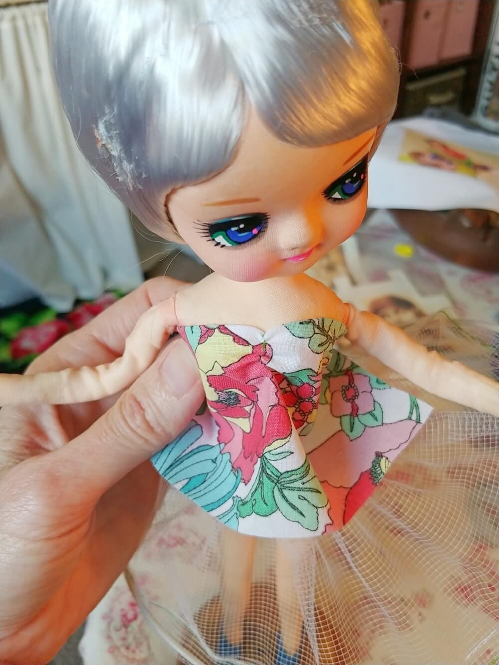 Upcycled Bradley Doll