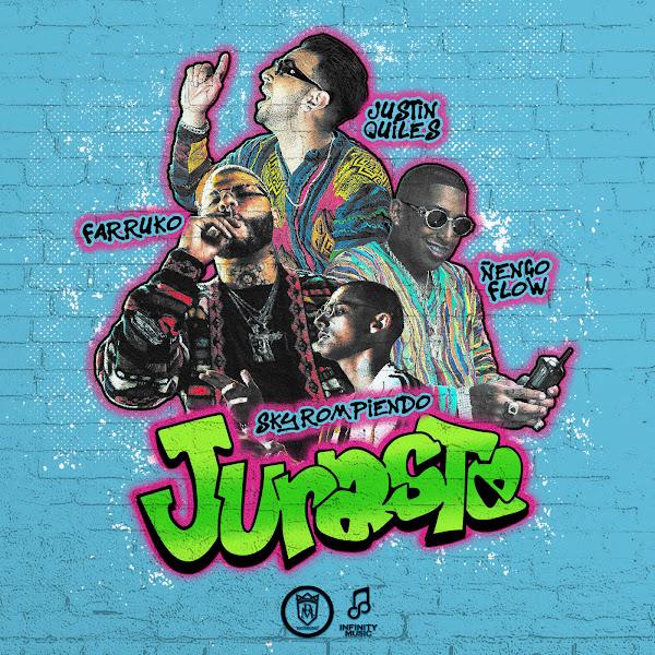 S.K.Y., Justin Quiles, Ñengo Flow & Farruko - Juraste - Single Cover