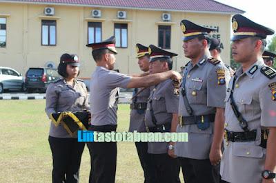 AKBP Frido Situmorang SH SiK Pimpin Upacara Sertijab Mutasi 8 Personel Polres Labuhanbatu