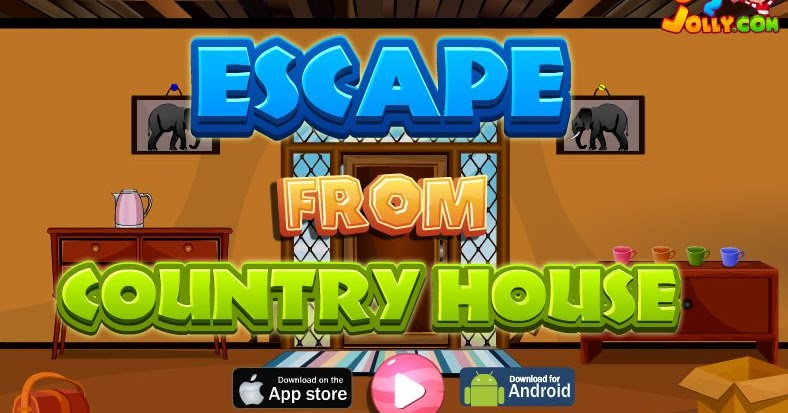 Escape from country house escape games daily new for Minimalistic house escape 5 walkthrough