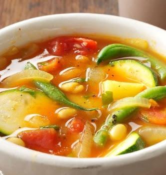 Summertime Veggie Soup recipe