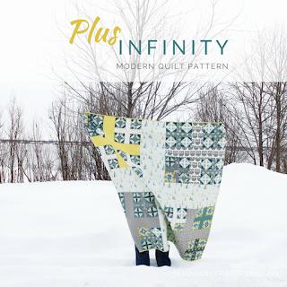 Heartland Plus Infinity Quilt | Shannon Fraser Designs #plusquilt #modernquiltpattern #quiltsinthewild