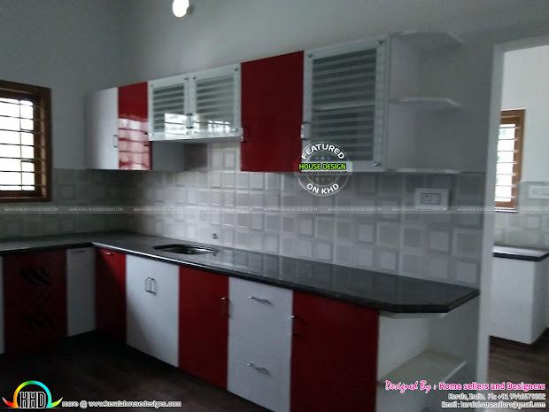 3 Bedroom 1400 Sq-ft House - Kerala Home Design And Floor