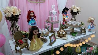Decoração festa infantil Princesas Disney Porto Alegre