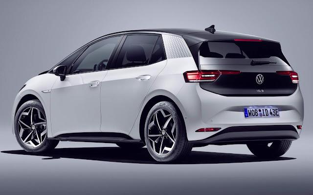 VW ID3 começa a ser vendido na Inglaterra e Espanha