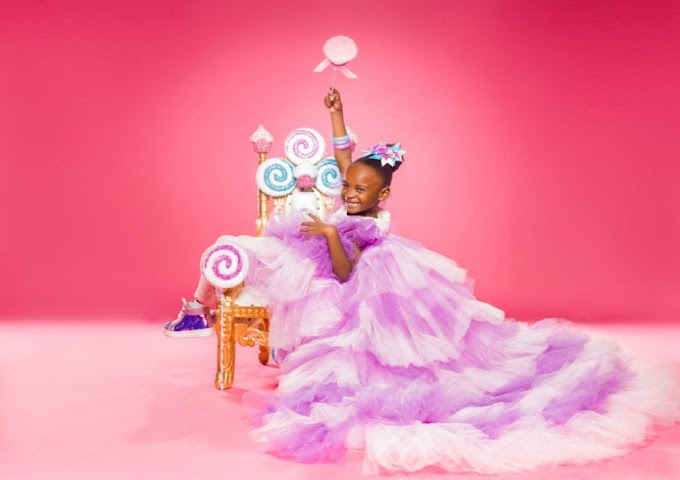5-year-old Lily Adeleye is the youngest CEO to have products in Target Stores