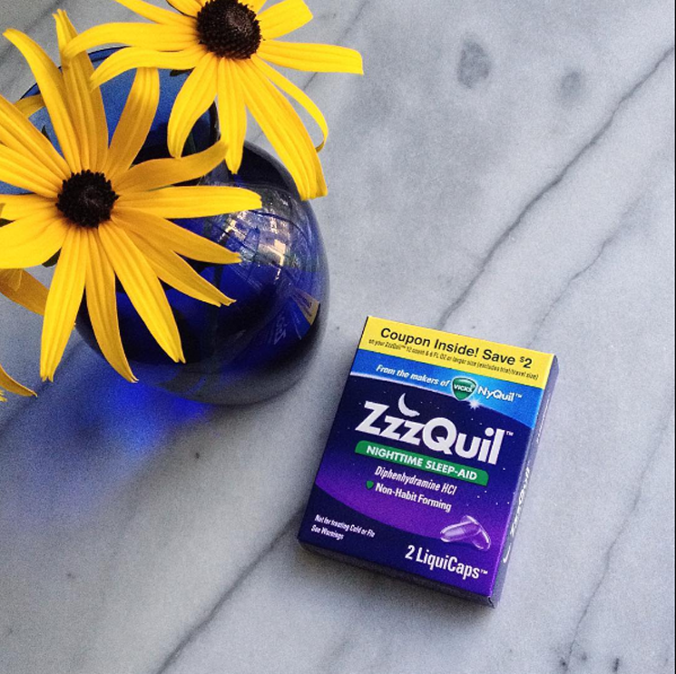 #ZzzQuil VoxBox from Influenster | A Review - A Simpler Grace