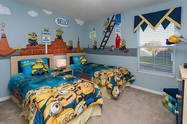 Dormitorios tema minions dormitorios colores y estilos for Dormitorio super heroes