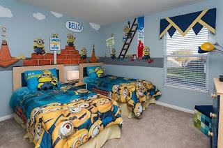 dormitorio tema minions