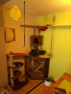 selber machen kratzbaum selber bauen. Black Bedroom Furniture Sets. Home Design Ideas