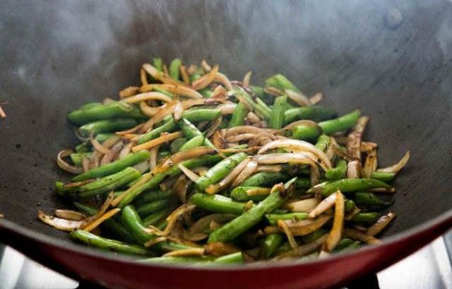 Green Beans Asian Style #vegan #dinner