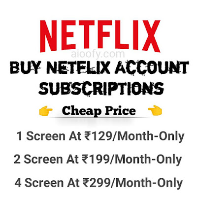 Netflix Account Buy Cheap Price Proof