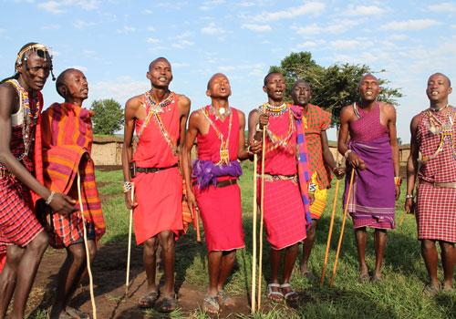 Strange life of Aboriginal Massai