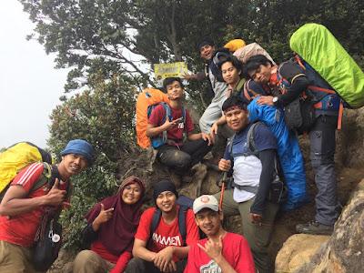 Gunung Kerinci Atap Sumatera