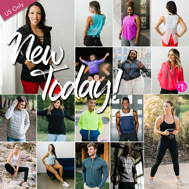 Zyia Active new release wednesday jackets, tanks, joggers, leggings, bralette, menswear, kids jackets