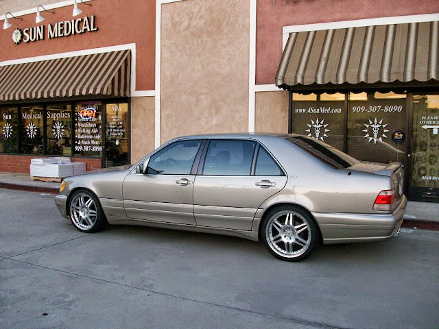 wheels for w140