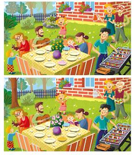 ilustracje dla dzieci katarzyna urbaniak WSiP lunapark basen przedszkole szkoła stołówka plac zabaw rodzina w ogrodzie znajdź różnice koncert orkiestry w przedszkolu piknik warszawska starówka zima dziadkowie las jesienią zwierzęta