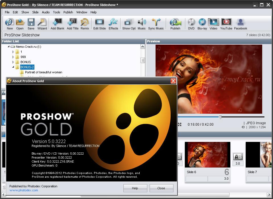 Photodex ProShow Gold 5.0.3276 full version