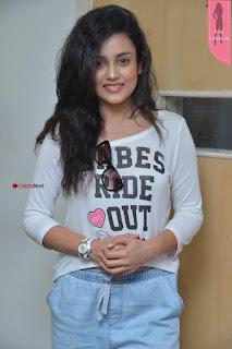 Cute Actress Misti Chakravarthi at Babu Baga Busy Team at Radio City ~  Exclusive 8th April 2017 009.JPG