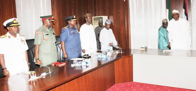 BREAKING!!! President Buhari Appoints New Service Chiefs