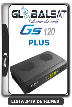 Globalsat GS120 Plus Nova Atualização Melhorias no Sistema IKS Melhorias no SKS 61w, 63w, 67w e 75w V1.57 - 19-06-2020