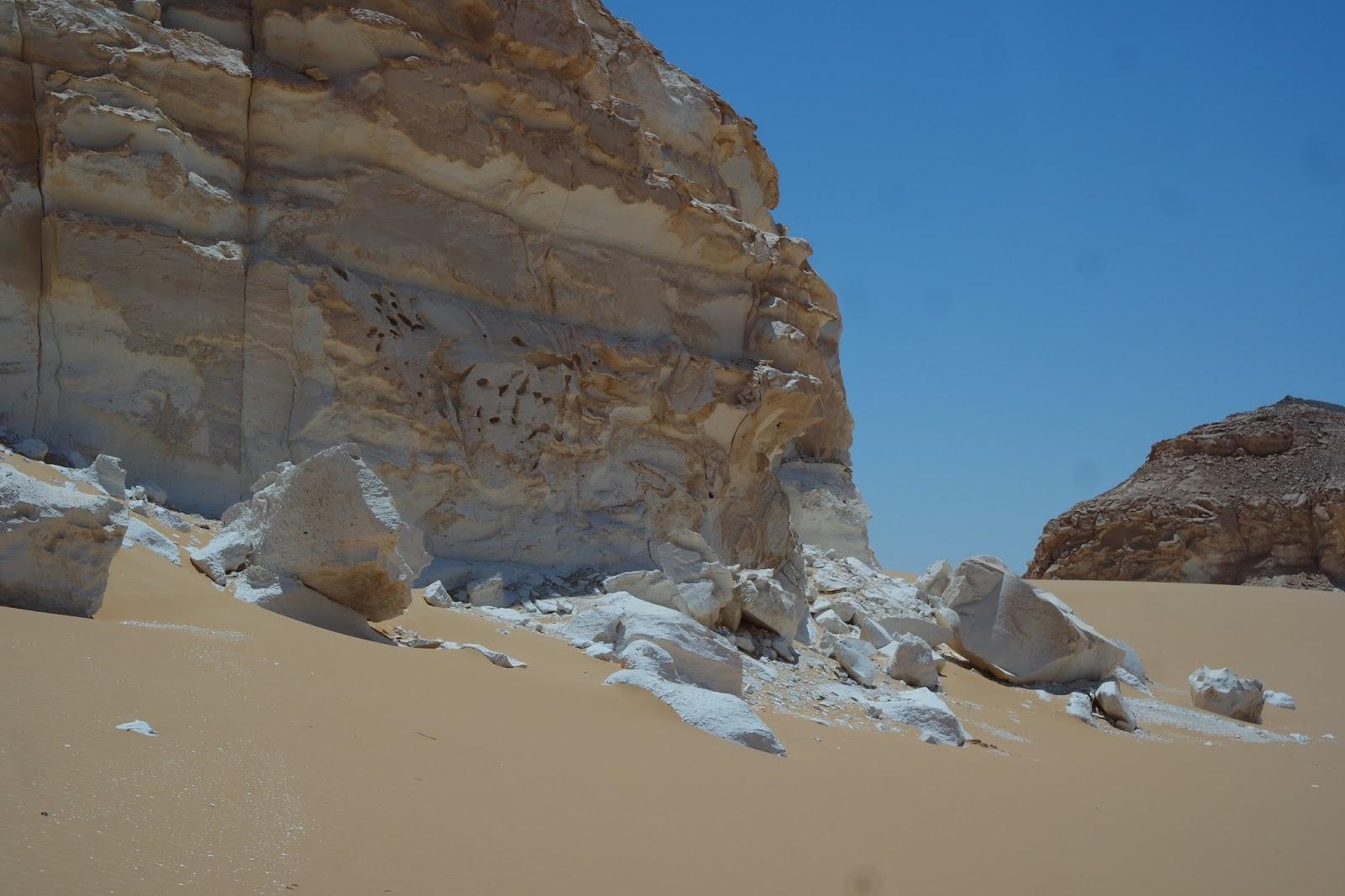 saara egito deserto branco